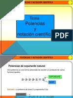 Potencias y Notación Científica