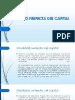 Movilidad Perfecta Del Capital