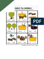 Prep Worksheet