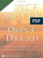 Don't Dread - Joyce Meyer