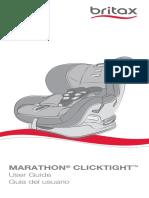 Britax Marathon Clicktight User Guide 01-28-2015