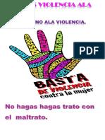 No Mas Violencia Ala Mujer
