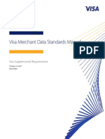 Visa Merchant Data Standards Manual