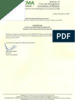 Cir List Candidates Election Gujranwala Bc