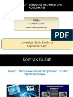 1. Teknologi Informasi