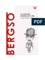 Dopazo Gallego Antonio - Descubrir La Filosofia 34 - Bergson - El Inaferrable Fantasma De La Vida.doc