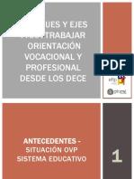 Enfoques y Ejes Para Trabajar La Orientacion Vocacional y Profesional Maria Elena Rodriguez y Carla Teran