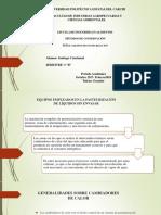 Presentación Equipos de Pasteurizacion