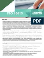 Catalogo ISO 10015