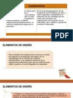 Cuestionarios - Diapositivas