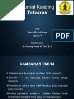 Journal Reading Tetanus