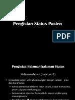 CARA PENGISIAN STATUS  RM & DIAGNOSIS