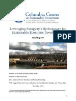 Leveraging Paraguays Hydropower for Economic Development Final CCSI