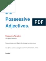 2-2 Possessive Adjectives.docx