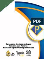 Manual de Especialidades Para Pioneros CSA