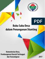 Buku Saku Stunting Desa