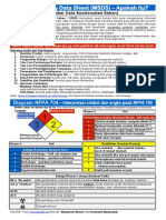 Material Safety Data Sheet -MSDS- Apakah Itu