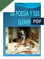 La Poesia y Sus Elementos