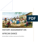 History of African Dance.docx