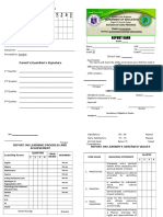 ANHS Report Card