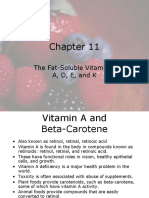 Chapter11 Fat Soluble Vitamins