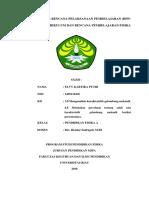 Elvy Kartika Putri (140511043) Kd 3.8 & 4.8 Sma Klas Xi