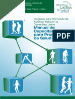 Manual de Capacitación Para promotores en salud