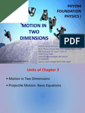 Chap3 W2 Acceleration Motion Physics