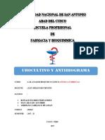 Urocultivo y Antibiograma