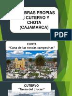Rasgos Linguísticos de Cutervo y Chota