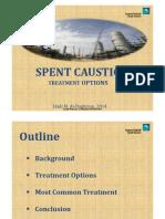 Spent Caustic Treatment Options-Saudi Aramco