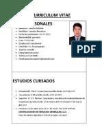 Curriculum Vitae Mmm
