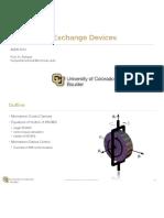 Momentum Exchange Devices Slides