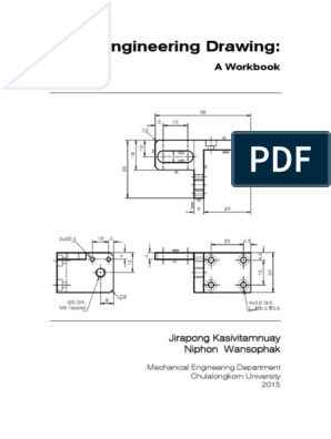 Workbook On Engineering Drawing 2558 7437 1439123325 Graphic Design Communication