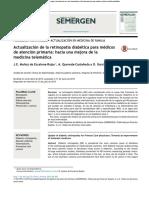 Actualización de La Retinopatía Diabética Para Médicos 2015