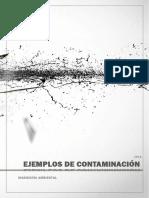 ejemplos de contaminación ambiental
