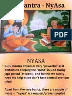 Guru Mantra - NyAsa - Maatruka chinthane