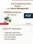 Machinery Management Pe Review-2012