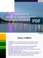 Introduction of Malaysia Inspection Bodies Accreditation Scheme (MIBAS)