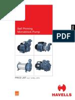 Pump MRP January 2016