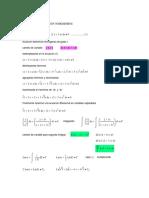 ecuaciones diferenciales homogeneas