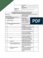 Formulir Persetujuan Tindakan Kedokeran
