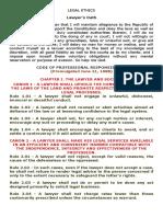 Legal Ethics (1)