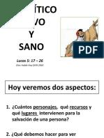 Paralatico Perdonado y Sanado Sábado 25 Noviembre 2017 Huachi Totoras