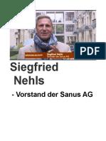 Siegfried Nehls Vorstand Der Sanus AG