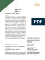 Anemia Por Deficiencia de Vitamina B12 Caso Clinico