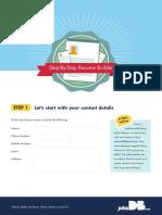 JobsDB Step by Step Resume Builder v2