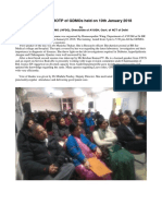 A Report on ROTP of GDMOs Held on 10th January 2018