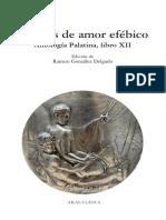 Varios autores - Poémas de amor efébico - Antología Palatina, libro XII