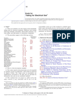 D2671-13 Standard Test Methods for Heat-Shrinkable Tubing for Electrical Use